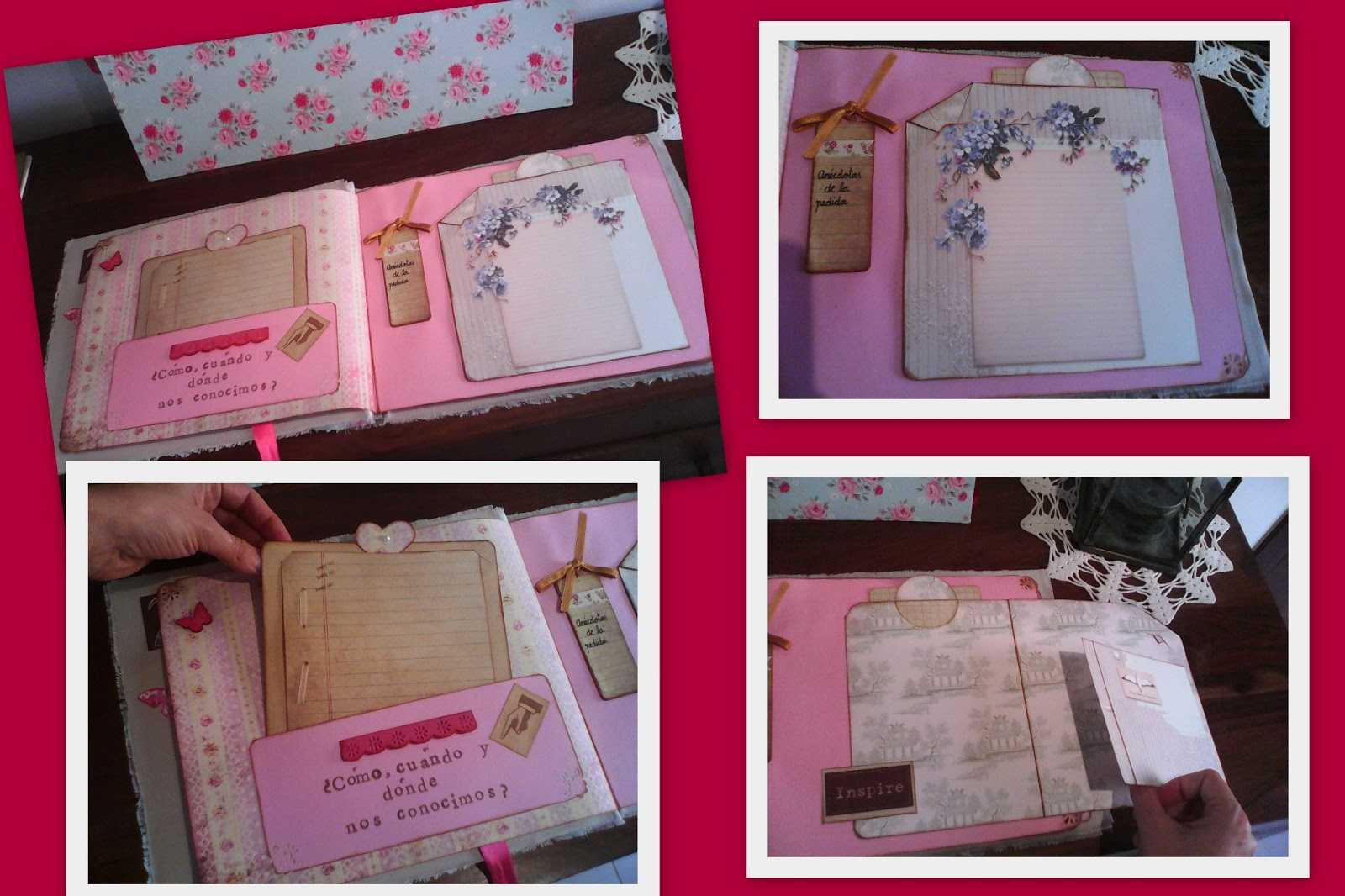 Scrap My Sweet Valentine: Scrapbooking boda: libro firmas + álbum