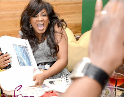 Omotola Turned 35 + Celebrates Birthday in Atlanta