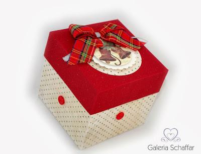jak zapakować prezent świateczny pudełko schaffar