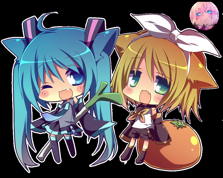 Render Miku y Rin