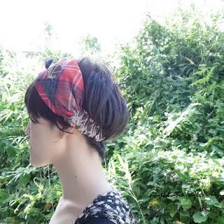 ヘッドドレス ヘアバンド ターバン norikonakaji