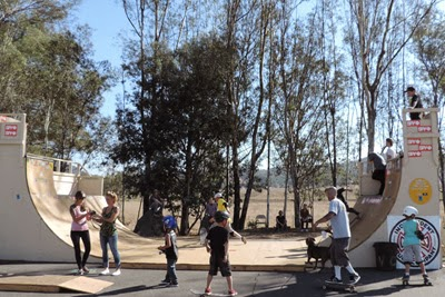 A beautiful SoCal Saturday - Skateboarding at the Park