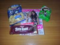 Cosmo, Chips, Milo and Tim Tams (My Goodies)