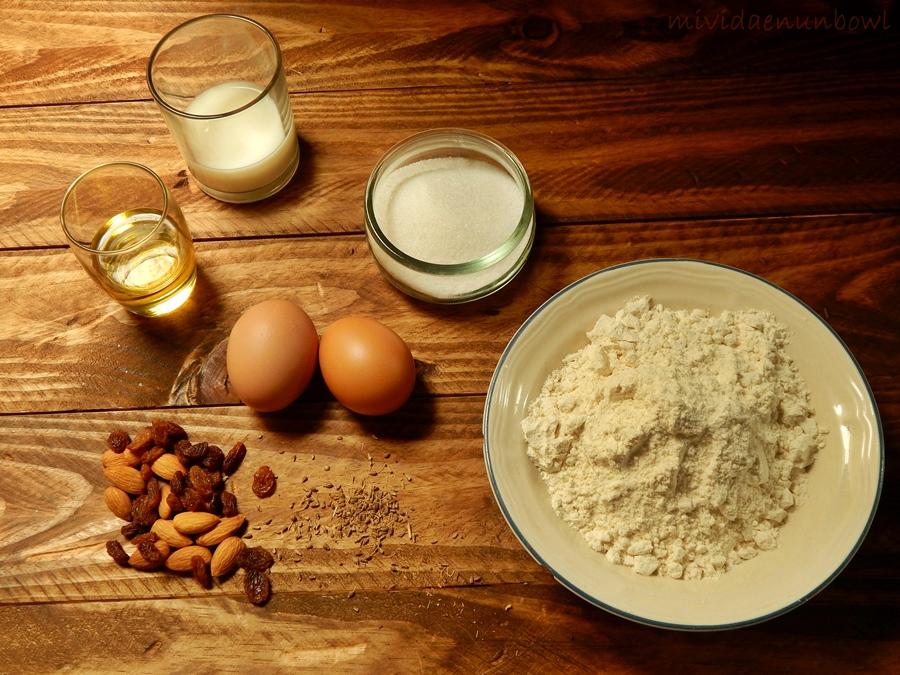 Ingredientes básicos para hacer rosquetes
