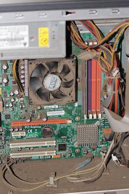 PC et poussière