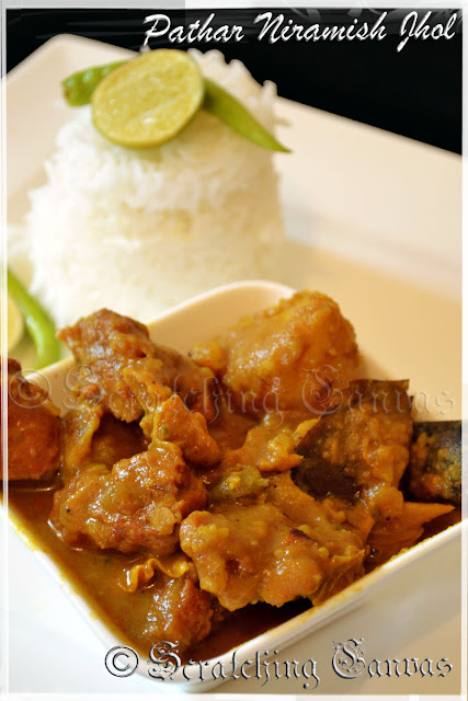 Veg Mutton Curry