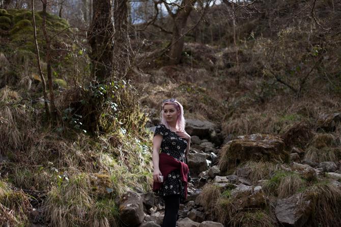 girl in landscape