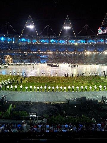 Swag on Deternity: BAADHI YA PICHA ZA UZINDUZI WA OLYMPIC 2012