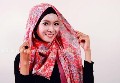 Cara Memakai Jilbab Pashmina Sederhana Praktis