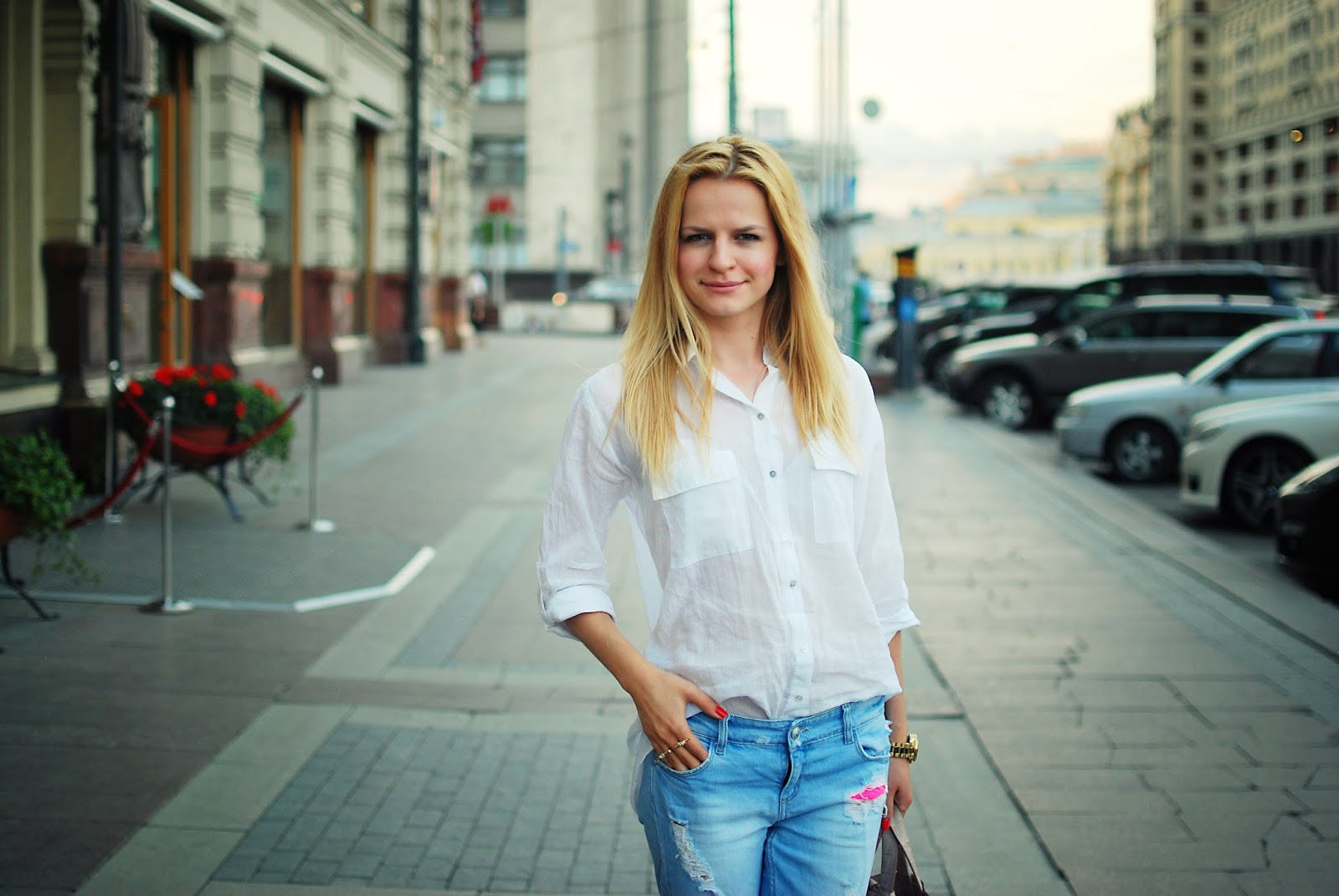 ripped jeans, denim look, blog moda, blog costa,лук с джинсами, рваные джинсы