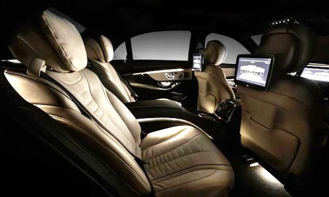 салон нового Mercedes-Benz S-Класса 2014