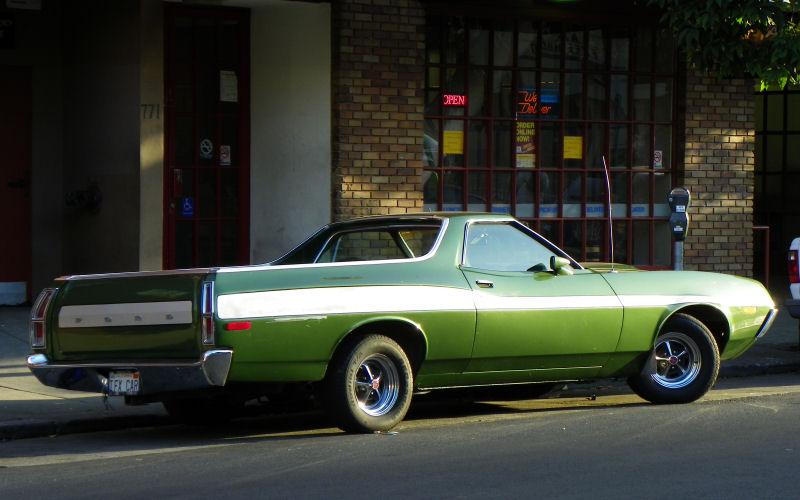 New Ford Torino >> California Streets: San Francisco Street Sighting - 1972 Ford Ranchero