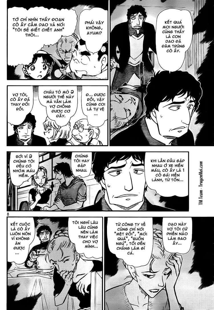 Detective Conan - Thám Tử Lừng Danh Conan chap 802 page 8 - IZTruyenTranh.com