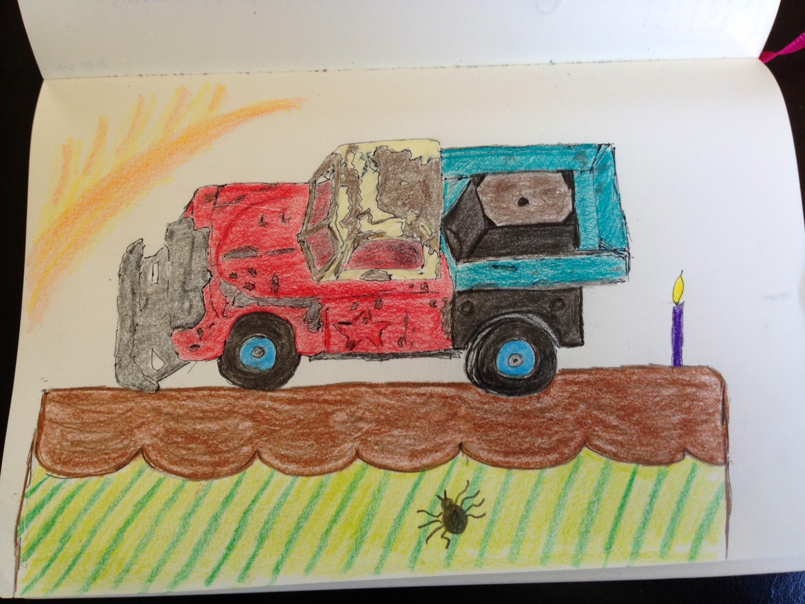 Trucks Dirt Bugs Adventure Are Words That Remind Me Of Him This Truck Cake Is For You