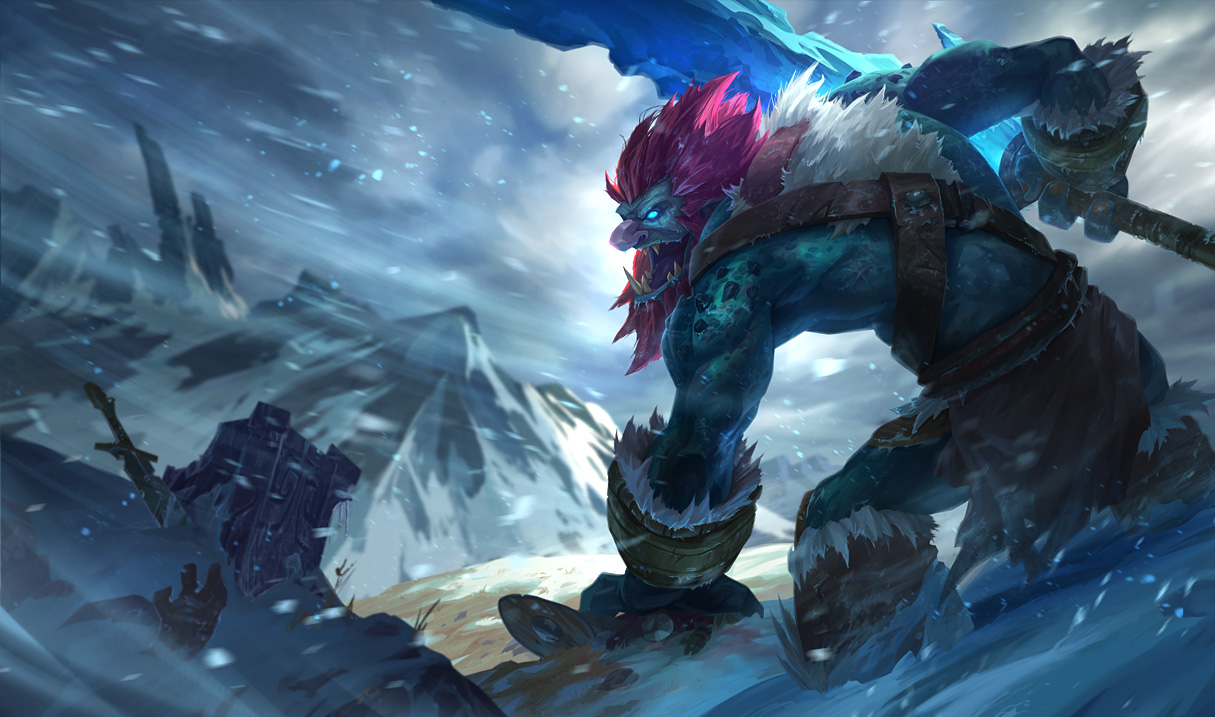 Surrender at 20: 3/26 PBE Update: New Trundle Splash