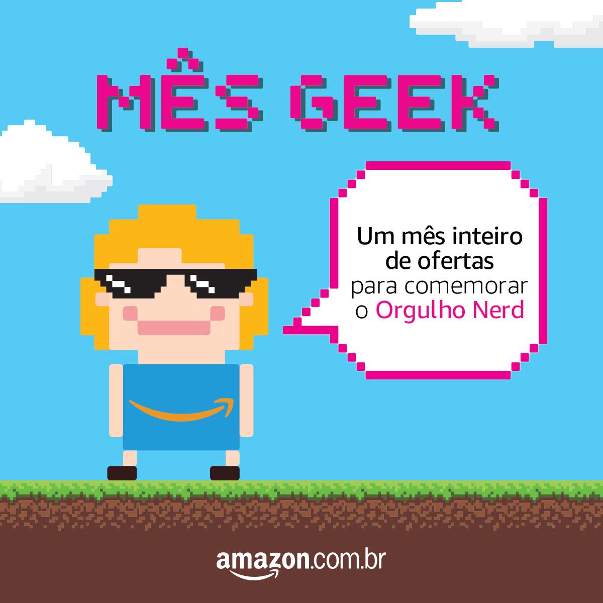 Mês Geek- Ofertas