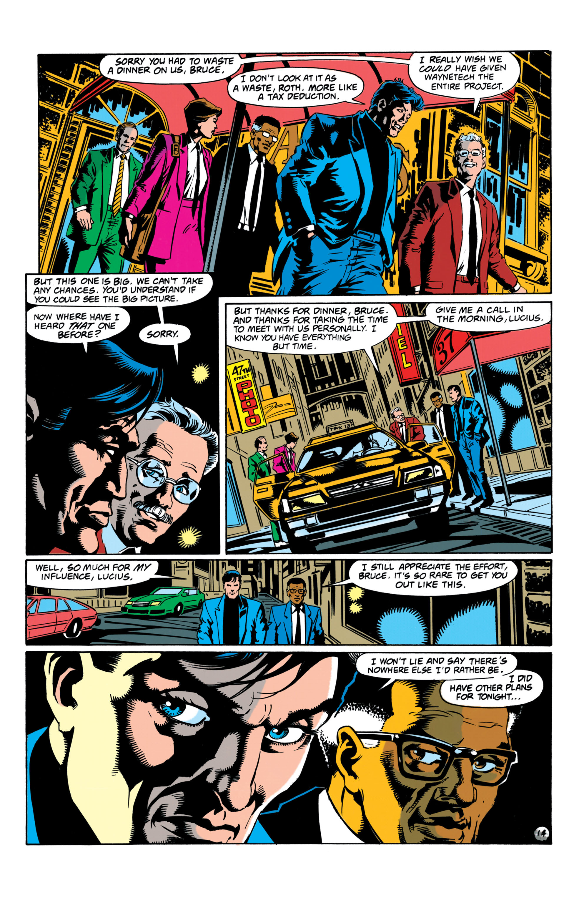Detective Comics (1937) Issue #657 Page 14