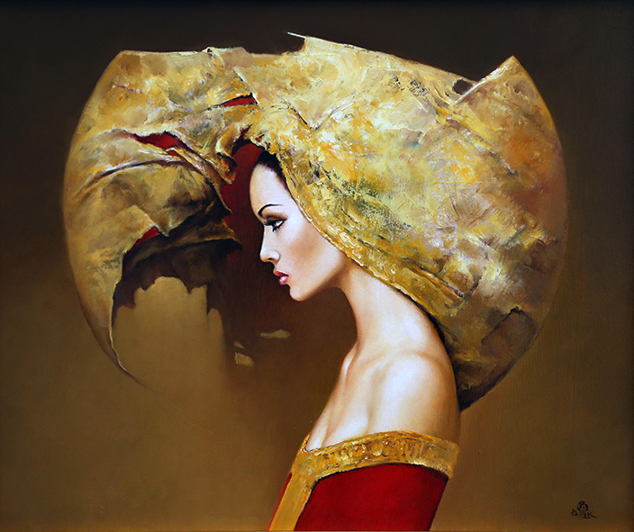 09-Karol-Bąk-Beautifully-Stylised-Portrait-Paintings-www-designstack-co