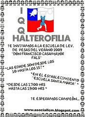 """ESCUELA VERANO """"FRANCISCO CASAMAYOR FALS 2009"""" GRATIS HALTEROFILIA"""