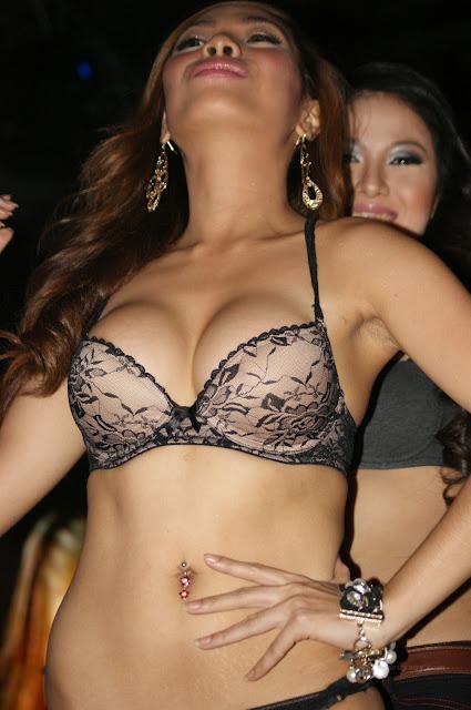 sexy models in striptease videos