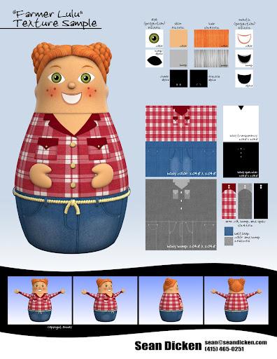 Sean Dicken Director Animator 3d Model And Texture