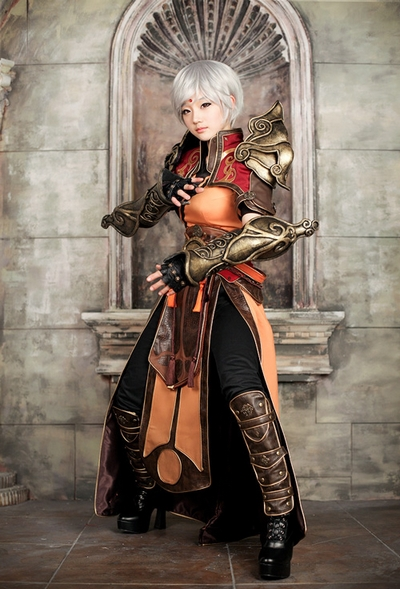 Diablo III Cosplay Female Monk