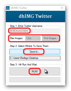 dhIMG Twitter program