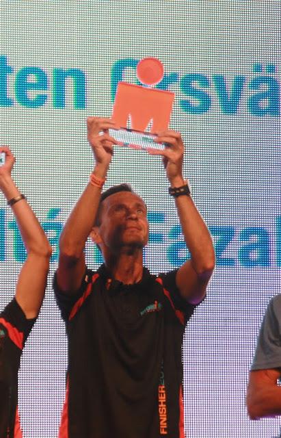 Vincitore categoria H50-54 Kalmar Ironman 2013