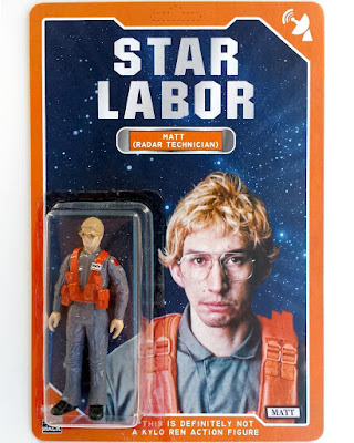 "Star Wars: The Force Awakens x Saturday Night Live ""Matt the Radar Technician"" Bootleg Undercover Boss Resin Figure by Scott Tolleson & 2bitHACK"