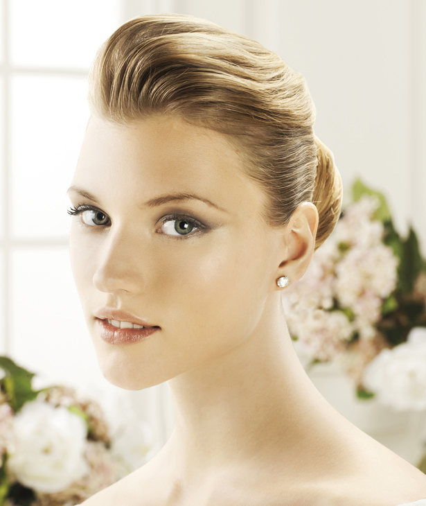 O Brillantes Diamantes Perlas Discretos Pero Los De Novias Básicos Pendientes Para Las Son Pincho RBOzq