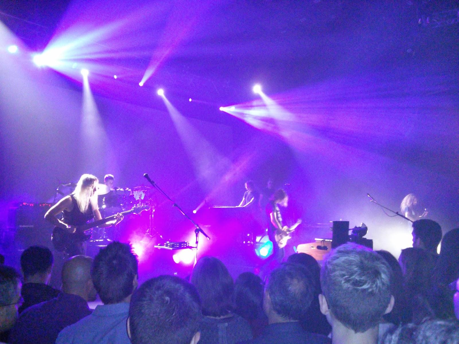 Steven Wilson y su banda vistos a los pies del escenario (2)