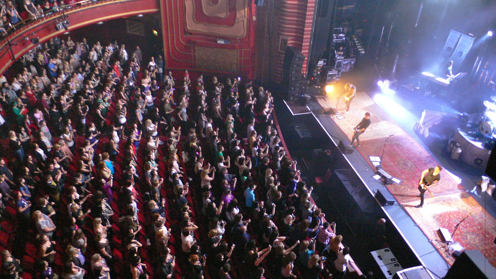 Oxford Daily Photo Mcfly Playing To Sold Out New Theatre