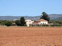 Can Plantada des del Camí de l'Ametlla. Autor: Carlos Albacete