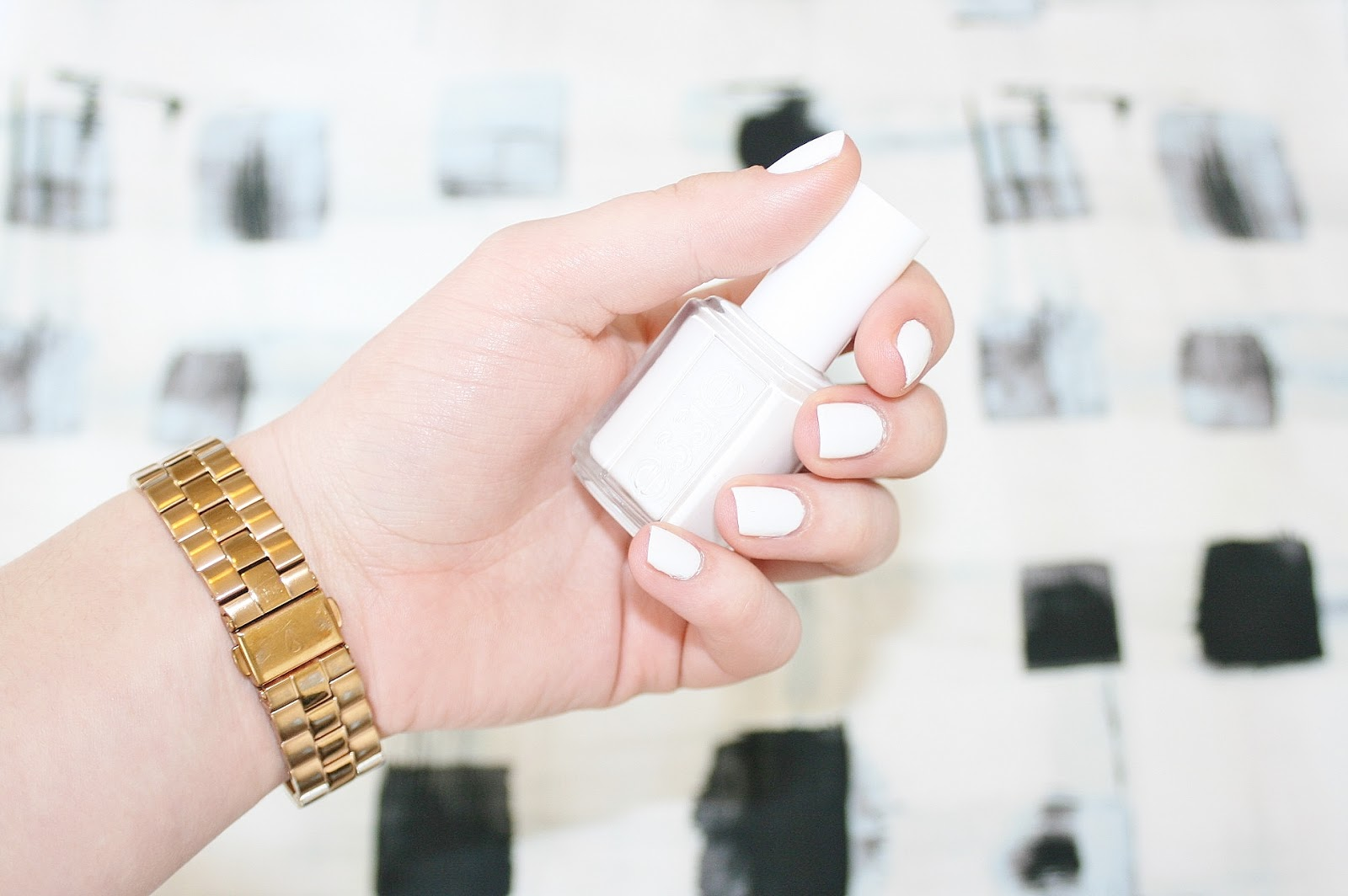 Katherine Penney Chic Essie Nail Polish White Beauty Spring Modern Clean Review