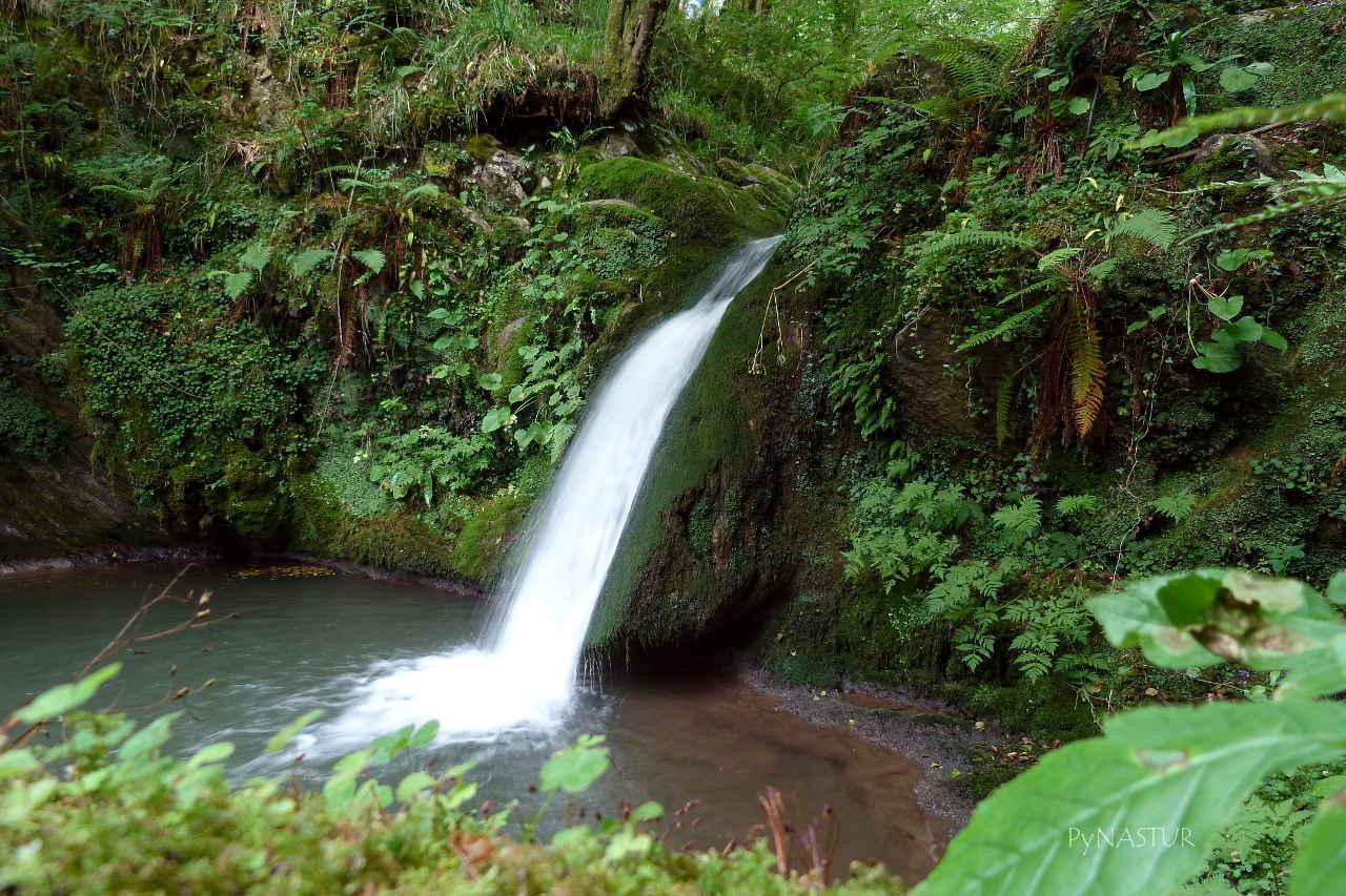 Cascada en el Río Viescas