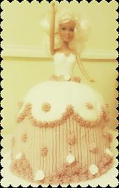 Barbietorták - Cakes