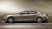 The new Maserati Quattroporte 2013 side