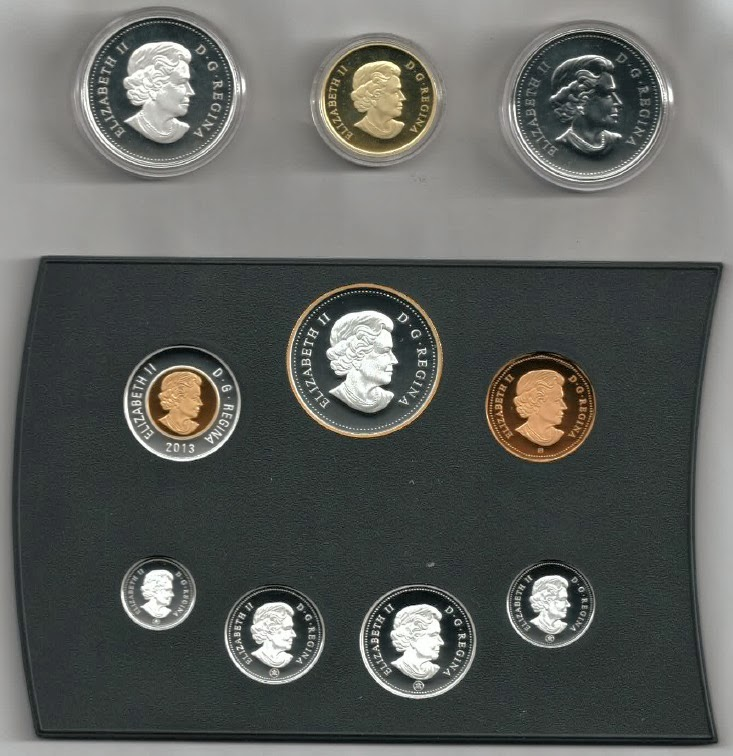 Coin collection - 100th Anniversary of the Canadian Arctic Expedition (year 2013) - [Obverse]