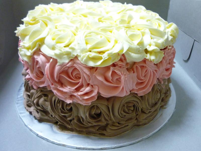 Elaines Tender Loving Cakes Neopolitan Cake For Jennifers Birthday