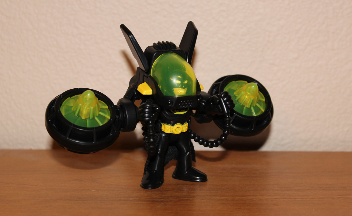 the toy museum imaginext batman with jet pack