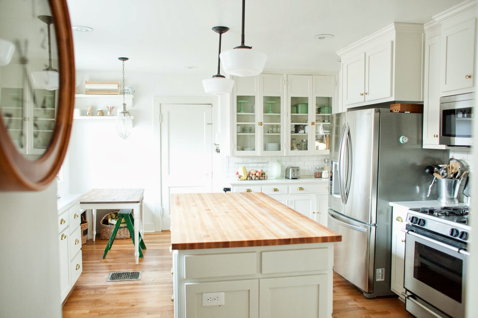 From the nato 39 s kitchen renovation before and after for Kitchen renovation ideas photos