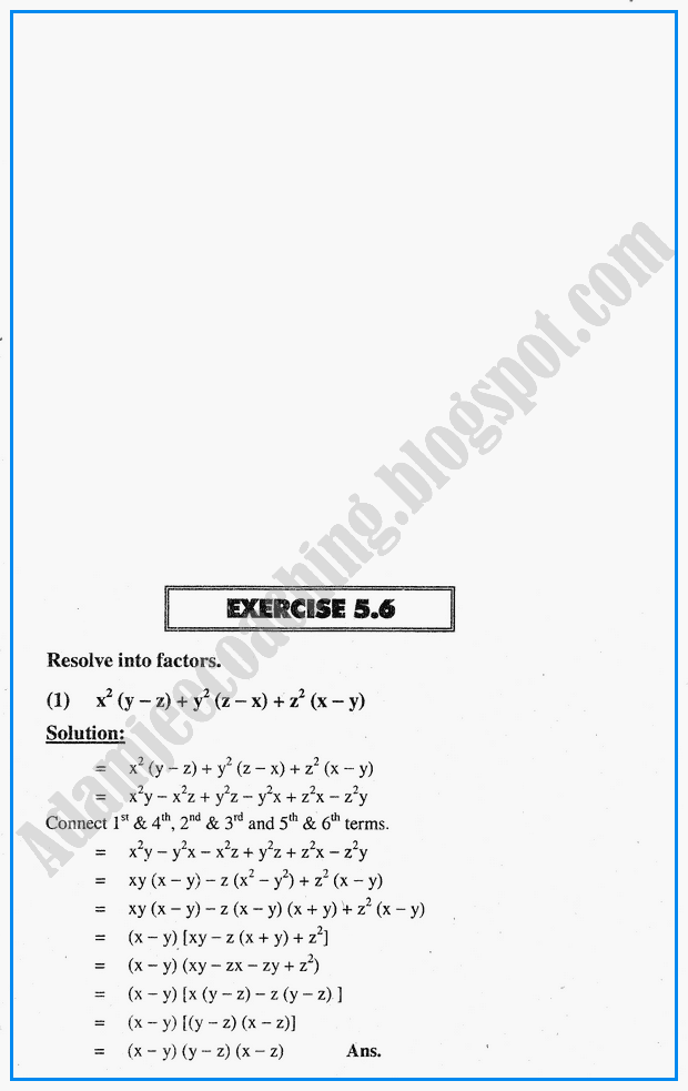 exercise-5-6-factorization-hcf-lcm-simplification-and-square-roots-mathematics-notes-for-class-10th
