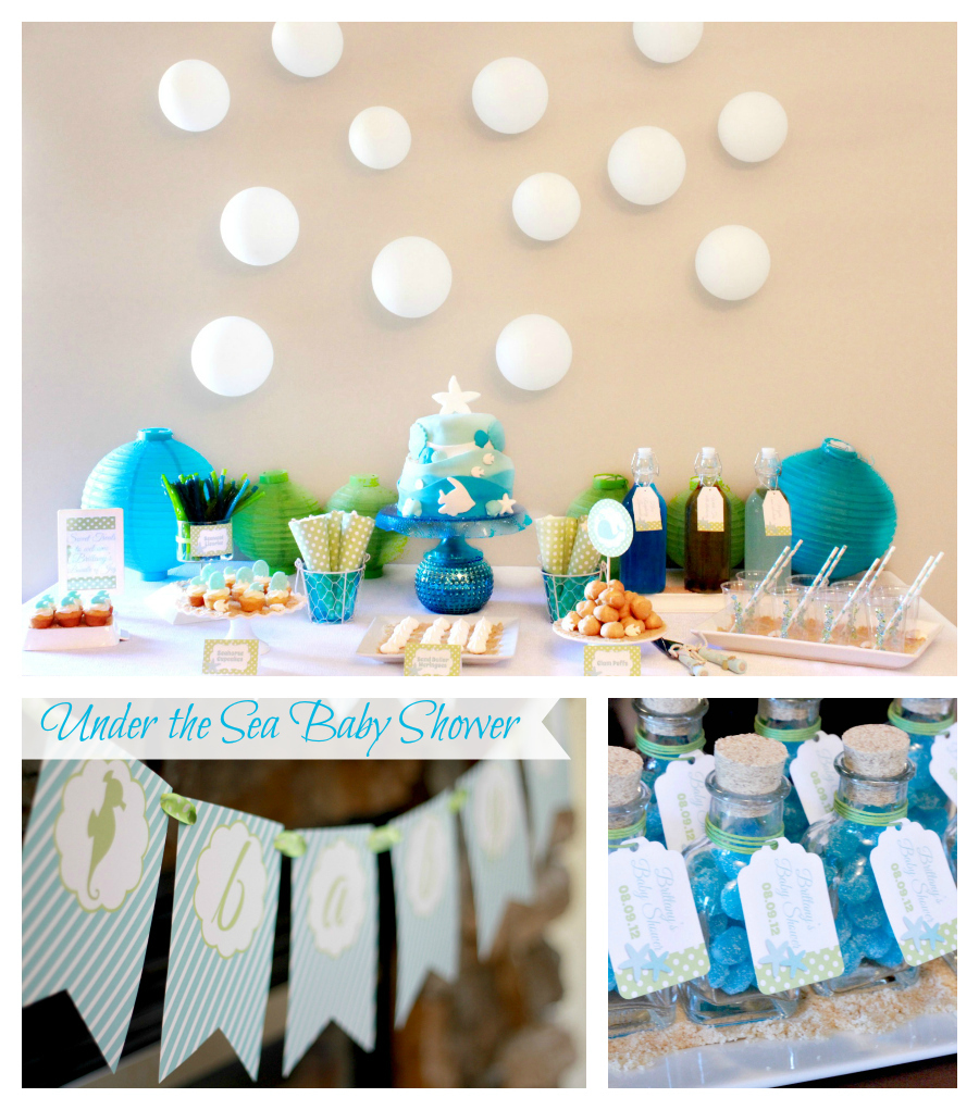 under the sea baby shower calgary party supplies