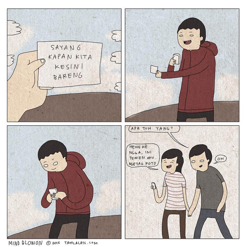 Meme komik lucu spesial tahilalats