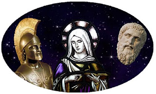 Homer, Plato, and the Saints among the stars