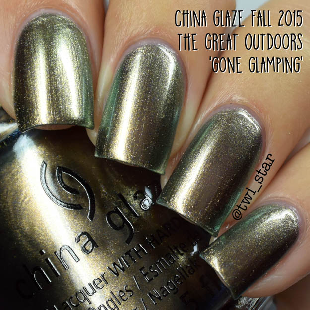 China Glaze The Great Outdoors Fall 2015 Gone Glamping