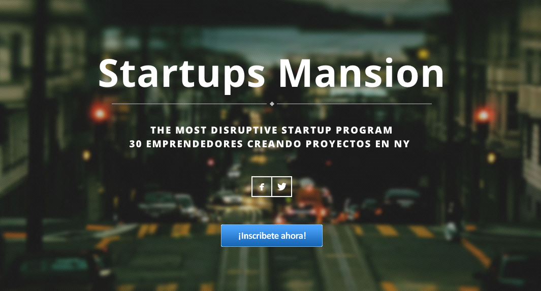 Startups Mansion emprendedores
