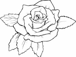 Flower Stained Glass Coloring Pages Printable
