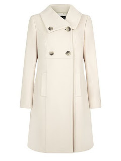 House of Fraser the Precis petite mid wool coat