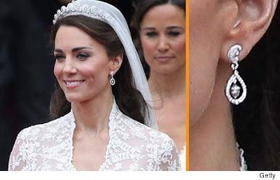 Kate Middleton Wedding Earring